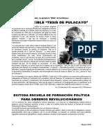 6- La Invencible Tesis de Pulacayo