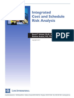 Long Intl Integrated Cost and Schedule Risk Analysis