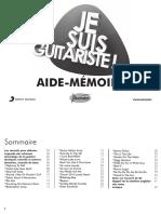 Je Suis Guitariste Livret Volume 1