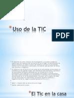 Uso de la TIC