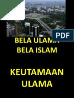 Bela Ulama Bela Islam