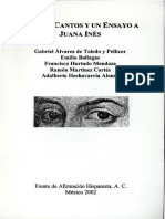 Cuatro Cantos y Un Ensayo a Juana Inés