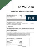 80722117 7 B1 Presupuesto Maestro de La Victoria Kite Company
