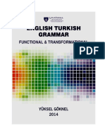 English Turkish Grammar Functional and Transformational