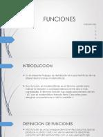 Presentacion de Funciones