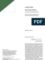 Copia de Elias, Norbert - Teoria del simbolo.pdf