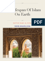 The Lifespan of Islam on Earth