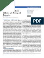 Comorbidity IGA vs Anxiety and Depression