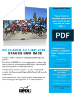Stages Avril 2018 Bmx
