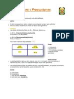 Razones y Proporciones Sb