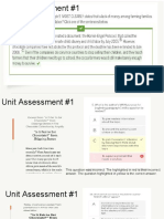 unit assessment sample questions