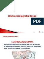 8.-  Electrocardiografía