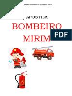 APOSTILA BOMBEIRO MIRIM