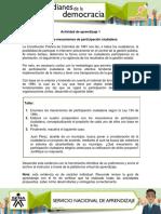 AA1 Evidencia Analisis de Mecanismos de Participacion Ciudadana