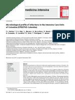 AB. Uso de AB en La UCI 2011 Perfil Microbiologico en COLOMBIA EPISEPSIS