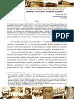 ORSO, Paulino J. as Possibilidades e Limites Da Educação Na Sociedade de Classes
