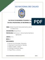 Determinación Fotocolorimetrica de La Ovoalbúmina.