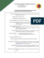 Memanah - Maklumat & Peraturan Kejohanan Pemilihan SUKMA 2016 Tahun 2015