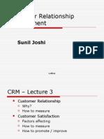 Customer Relationship Management Class 3