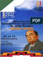 Boletin Para Feria Del Libro