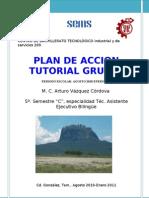 Plan de acción Tutorial Grupal Ago´10-Ene11