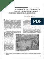 estado y politización en la socedad colombiana.