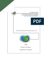 Classificação de imagens por sensoriamento remoto
