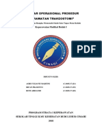 Standar Operasional Prosedur Perawatan Trakeostomi