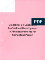 Guidelines Cpd Requirements for Competence Person 1