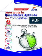 Shortcuts in Quantitative Aptitude for Competitive Exams