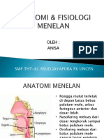 ANATOMI & FISIOLOGI MENELAN