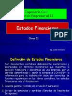 Clase 2 Estados Financieros