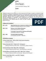 Curriculum Vitae Juan Carlos Muñoz Aguilar
