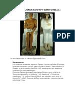 Comparación de Obras Escultoricas