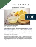 Lemons Perparagraf