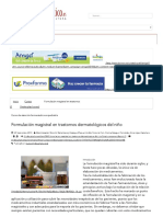Formulación Magistral en Trastornos Dermatológicos Del Niño