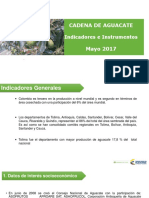 002 - Cifras Sectoriales - 2017 Mayo Aguacate