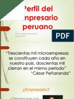 Perfil Del Empresario Peruano