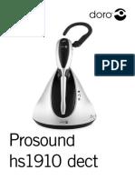 Doro Prosound Hs1910 Dect Man Fr
