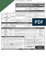 PPSC  Advt 11-2018- 05-04-2018