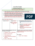 tooth lesson plan