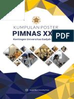 Buku Kumpulan Poster Kontingen PIMNAS XXIX UGM