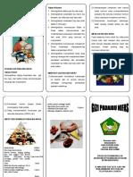 Leaflet Gizi Untuk Ibu Nifas
