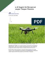 Contoh Kegunaan Drone Untuk Membantu Pertanian