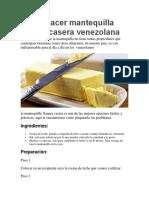 Cómo hacer mantequilla llanera casera venezolana.docx