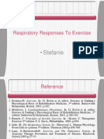 Respiratory Responses to Exercise SF