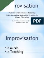Improvisational Mindset Slides