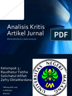 Analisis Kritis