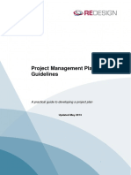 Project Management Plan Guide
