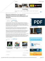 Prensa 1 Expertos analizarán en un simposio en Córdoba la presencia de...